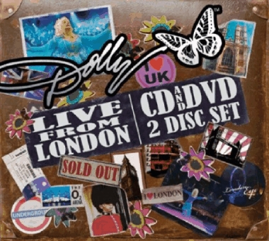DOLLY PARTON Classics Londonnewcover